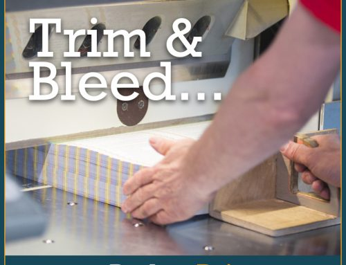 What is Trim and Bleed?